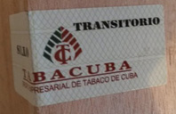 Updated Cuban tobacco transit seal