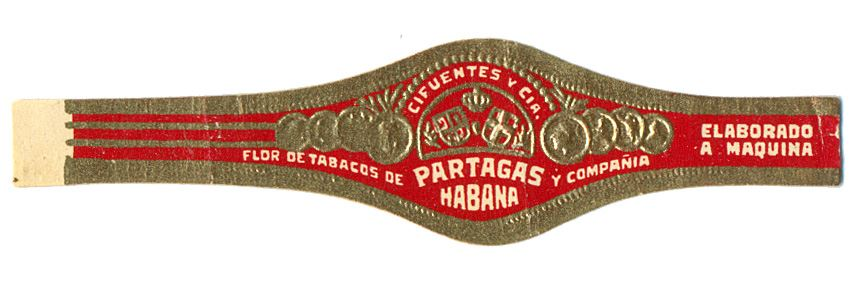 Early Standard Band A - For machine-made cigars image