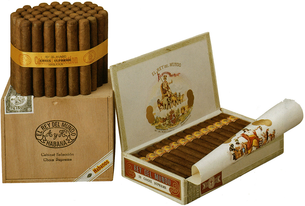 Typical El Rey del Mundo packaging