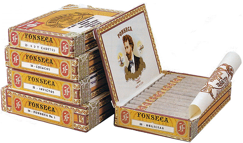 Typical Fonseca packaging