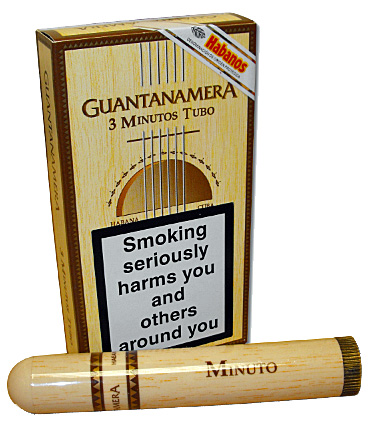 Typical Guantanamera packaging