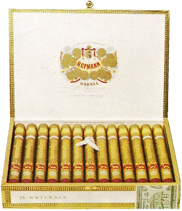 Typical H. Upmann packaging