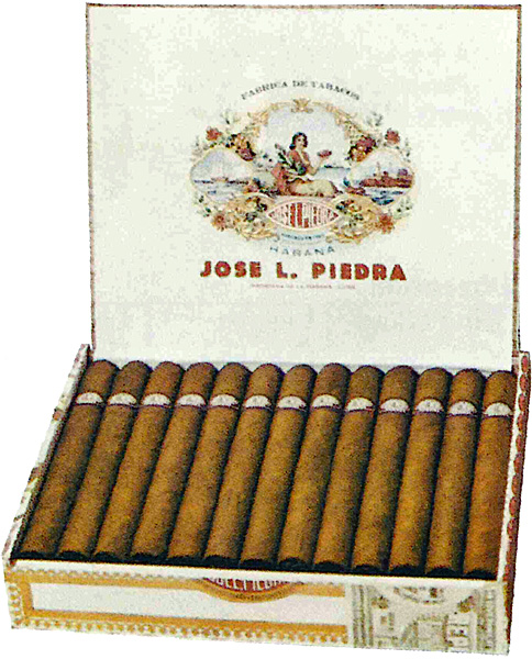 Typical José L. Piedra packaging