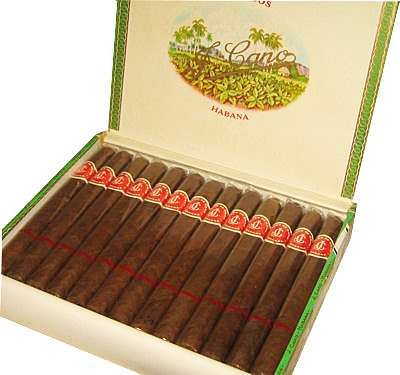 Typical La Flor de Cano packaging