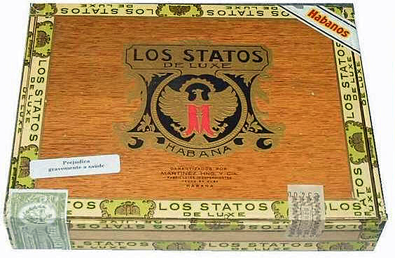 Typical Los Statos de Luxe packaging