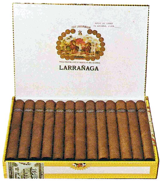 Typical Por Larrañaga packaging
