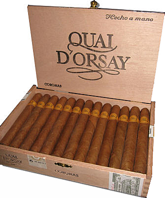 Typical Quai d'Orsay packaging