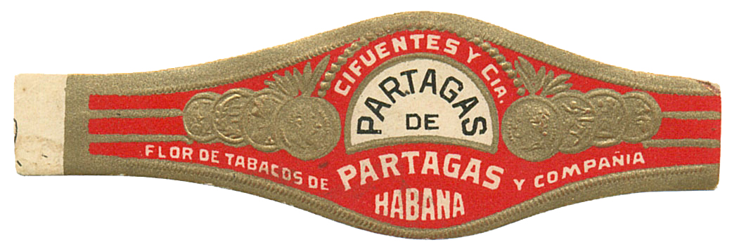 Early Partagás de Partagás Band image