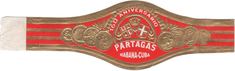Partagás Robusto Extra band