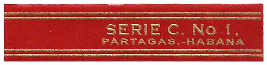 Partagás Serie C No.1 band