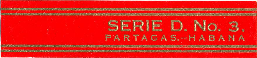 Partagás Serie D No.3 band