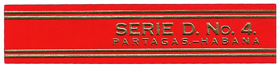 Partagás Serie D No.4 band