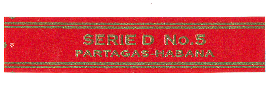 Partagás Serie D No.5 band