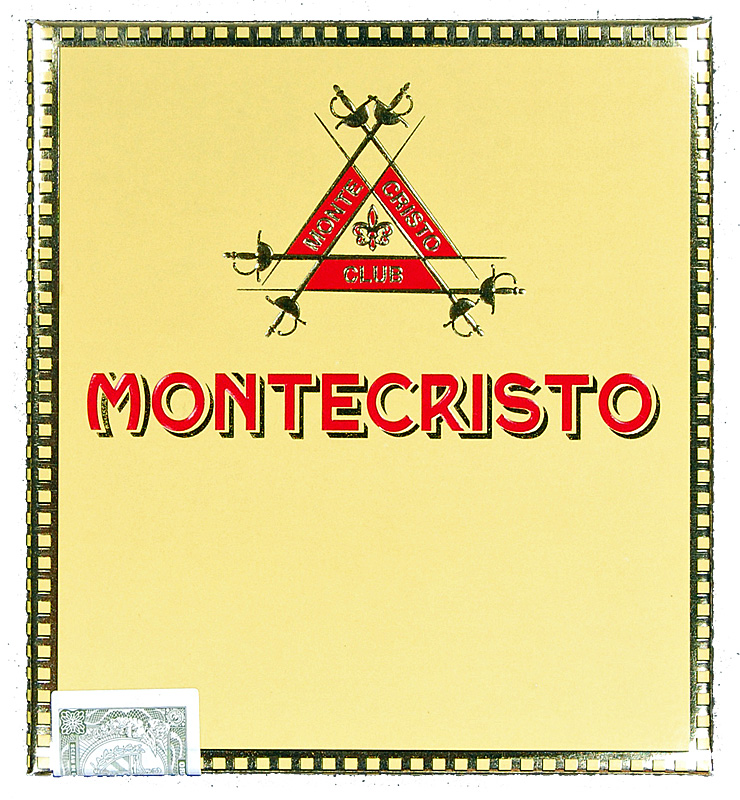 Club Montecristo Club packaging