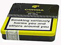 Mini Cohiba Mini packaging