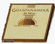 Mini Guantanamera Mini packaging