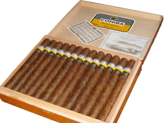 Cohiba Double Coronas band