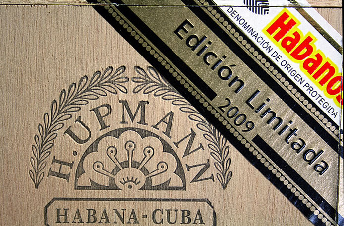 H. Upmann Edición Limitada packaging