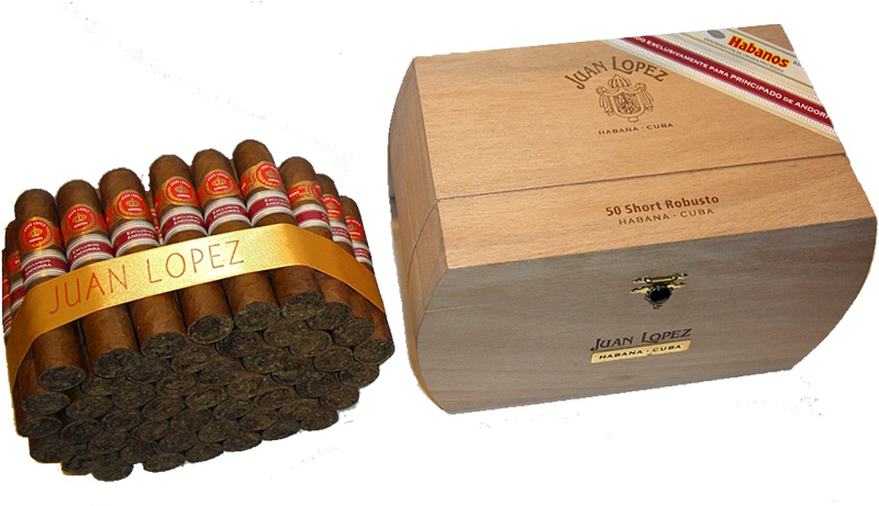 Juan López Short Robusto band