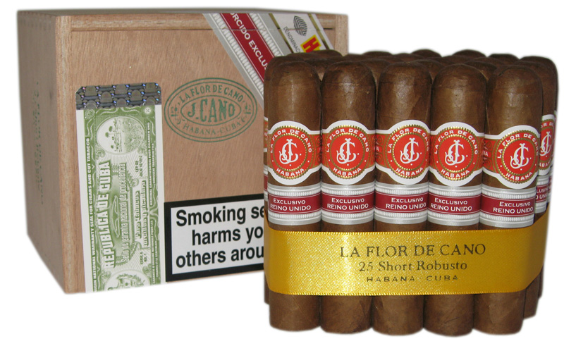 La Flor de Cano Short Robusto band